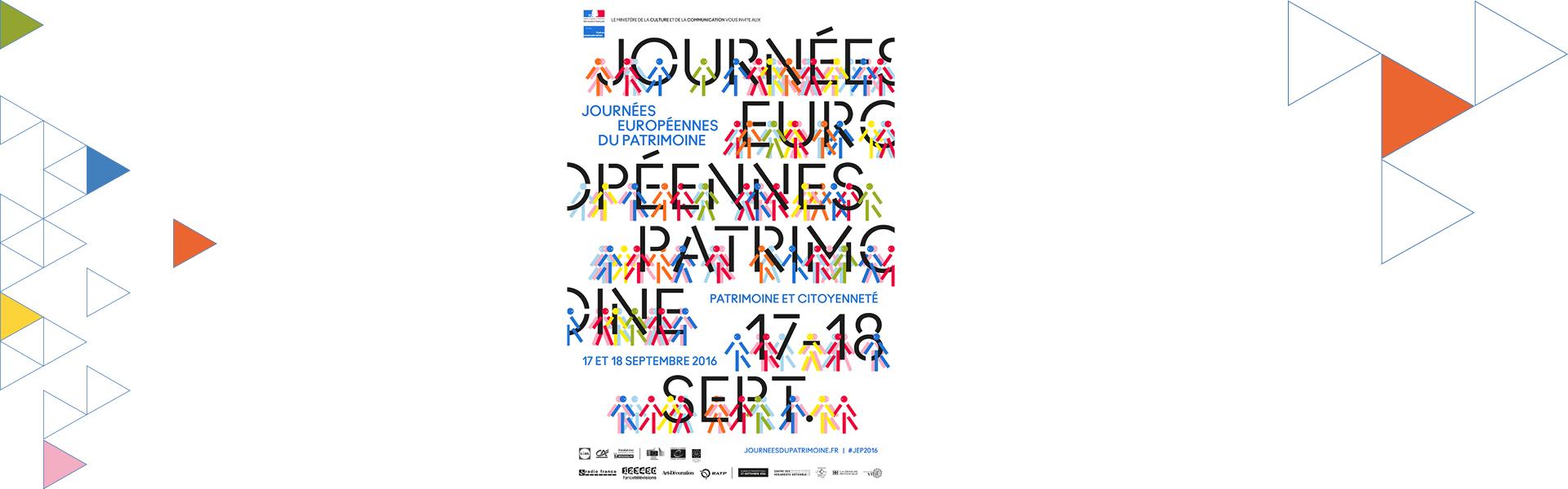 Le 17 septembre, le CAUE 64 vous invite aux Journées Européennes du Patrimoine