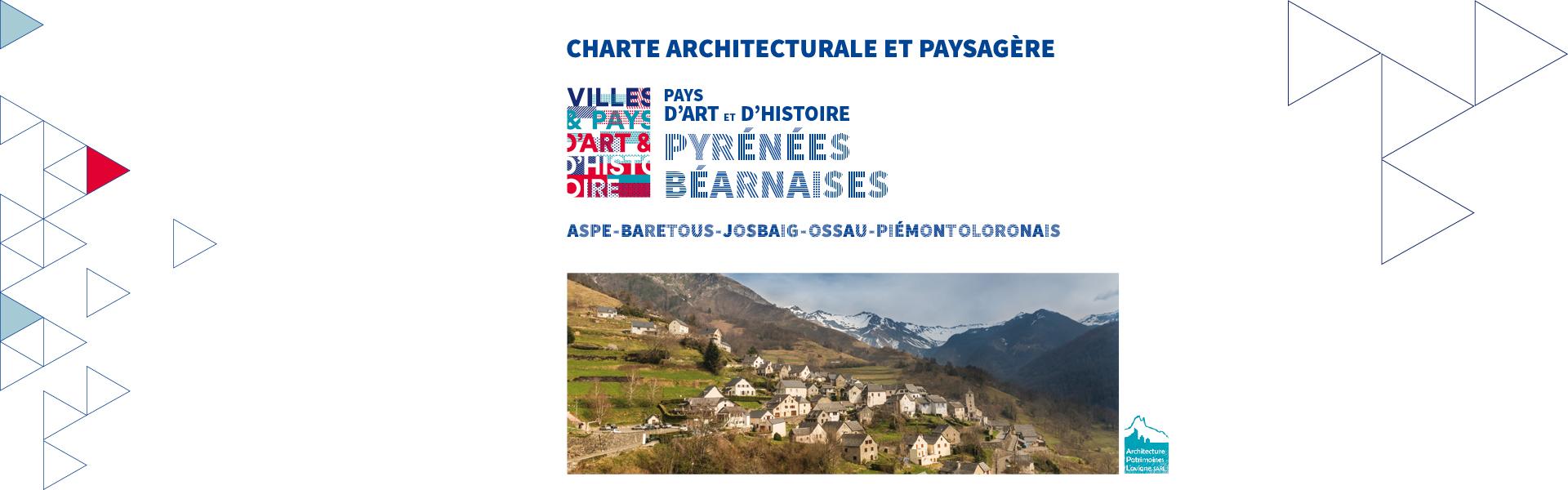 Une charte architecturale et paysagère pour les Pyrénées Béarnaises accompagnée par le CAUE 64