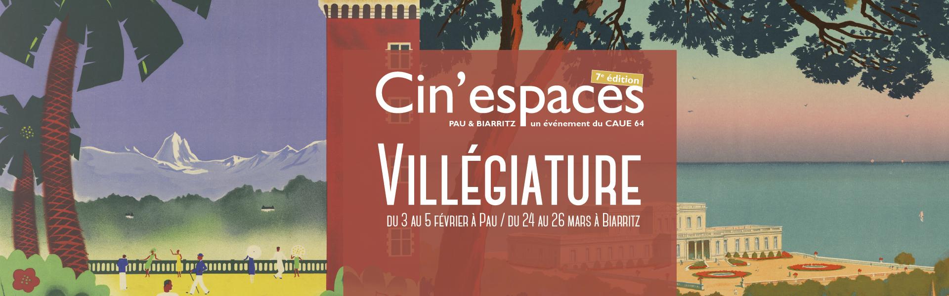 De la villégiature au tourisme : Cin'espaces 7ème édition