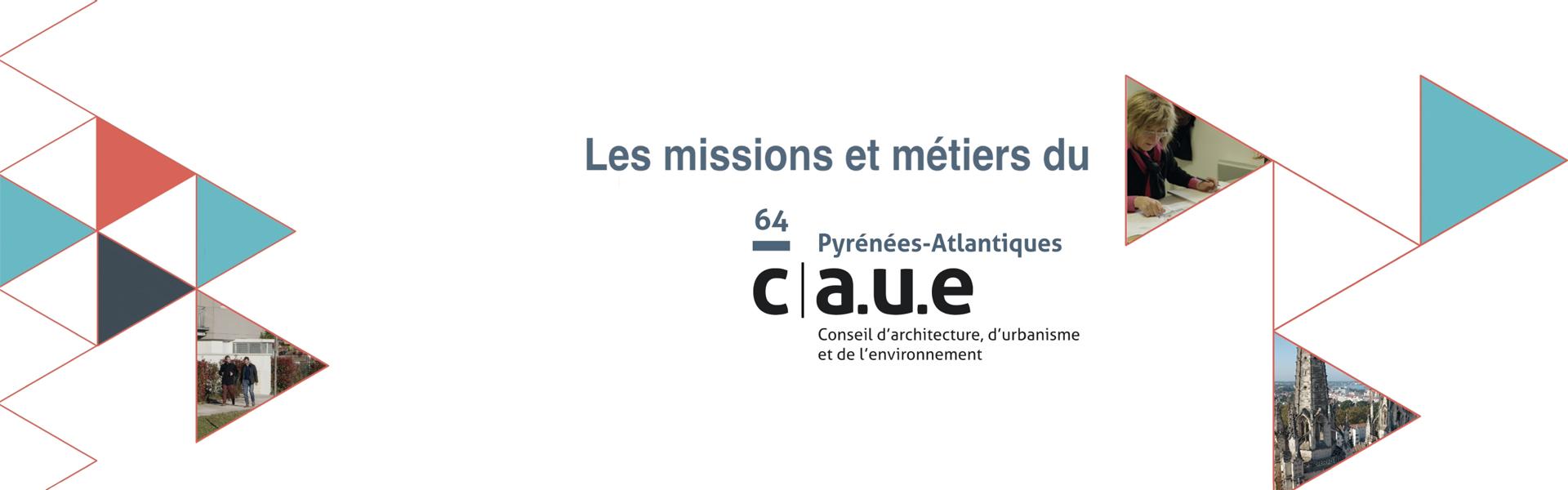 Les missions du CAUE 64 en images...