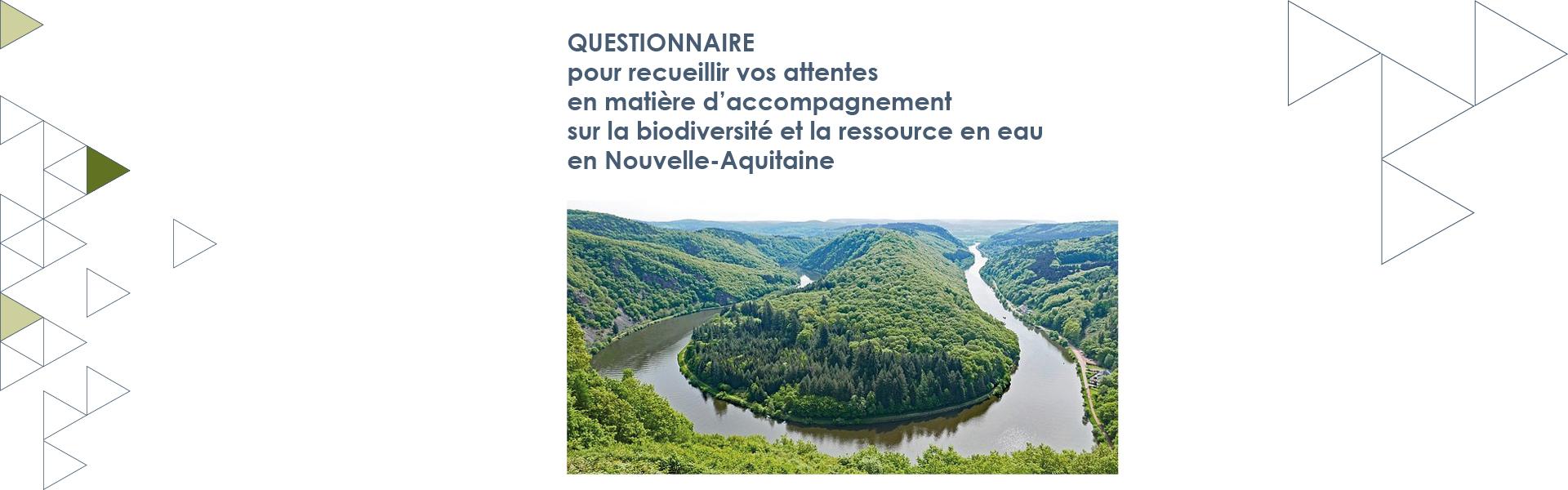 Une enquête au service de l'Agence Régionale de la Biodiversité en Nouvelle-Aquitaine