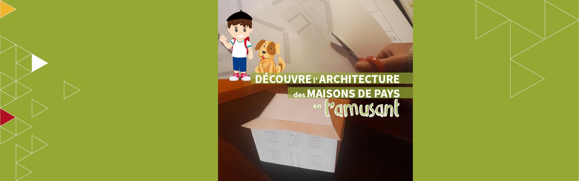 Tu as envie de découper, coller, assembler et colorier ? Suis-nous pour fabriquer ta maison !