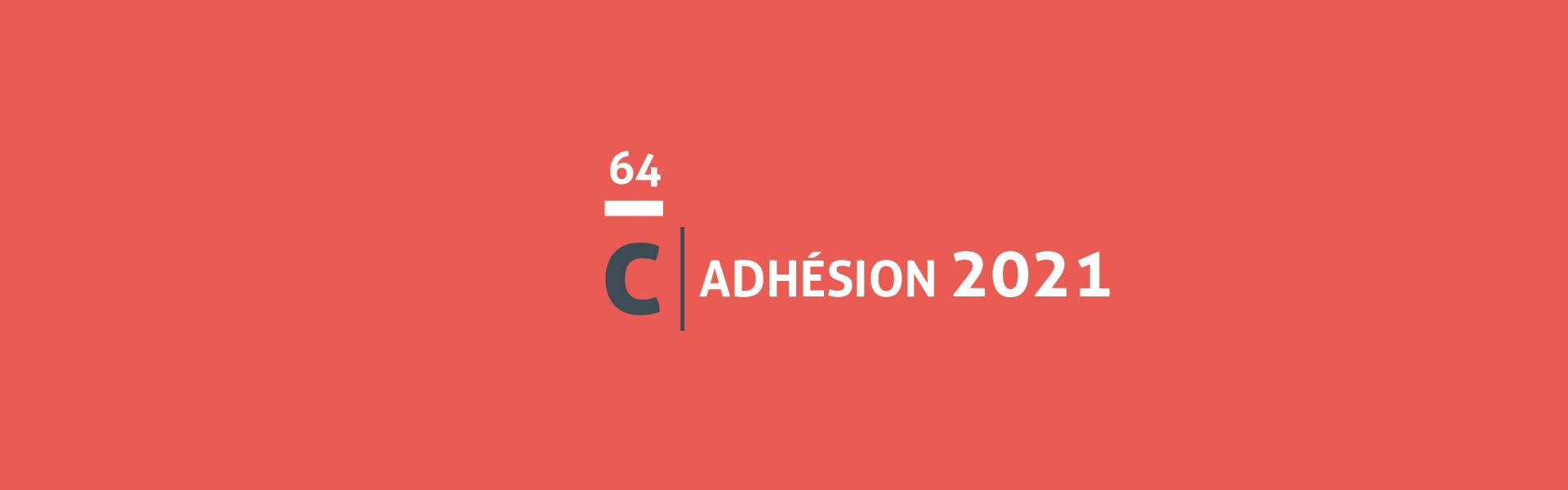 Votre adhésion pour 2021 constitue un soutien fondamental à l'ensemble de nos missions