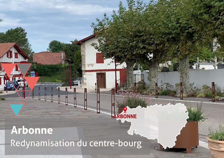 Arbonne-Redynamisation centre-bourg
